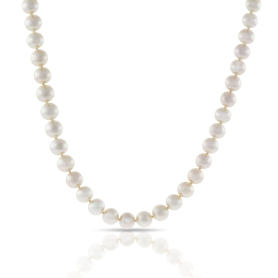 Freshwater Cultured Pearl Strand, 14K, 9mm