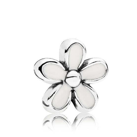 Pandora Petite Locket Daisy Enamel Charm 792172en12