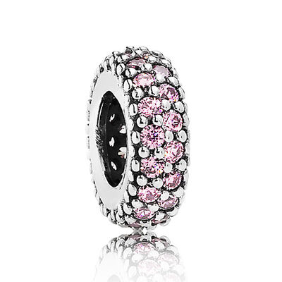 Pandora Inspiration Within Spacer in Pink