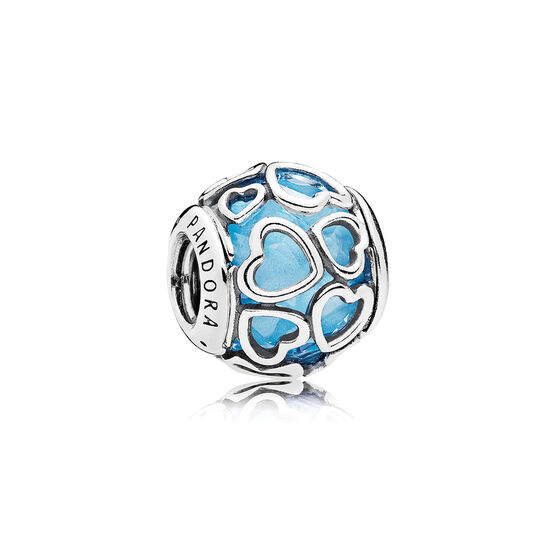 PANDORA Encased in Love Blue Charm