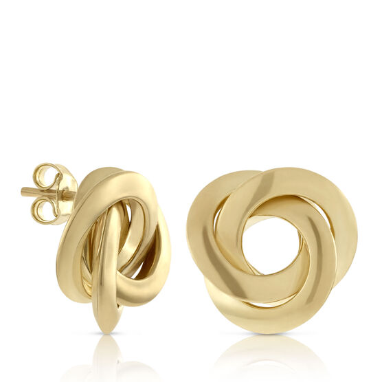 Toscano Interlocking Earrings 18K