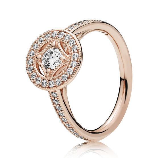 PANDORA Rose™ Vintage Allure CZ Ring