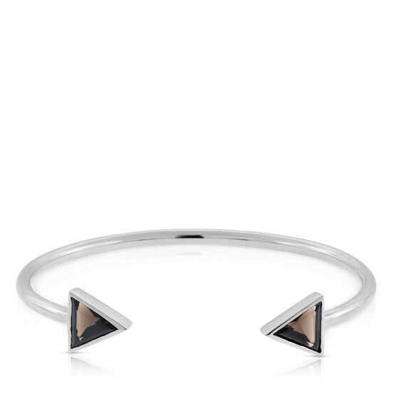 Lisa Bridge Smoky Quartz Double Arrow Bracelet