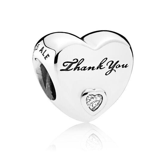 Pandora Thank You CZ Charm