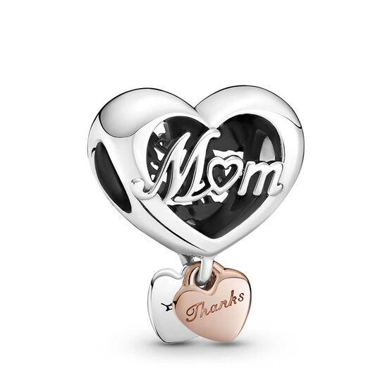 Pandora Rose™ Thank You Mom Heart Charm