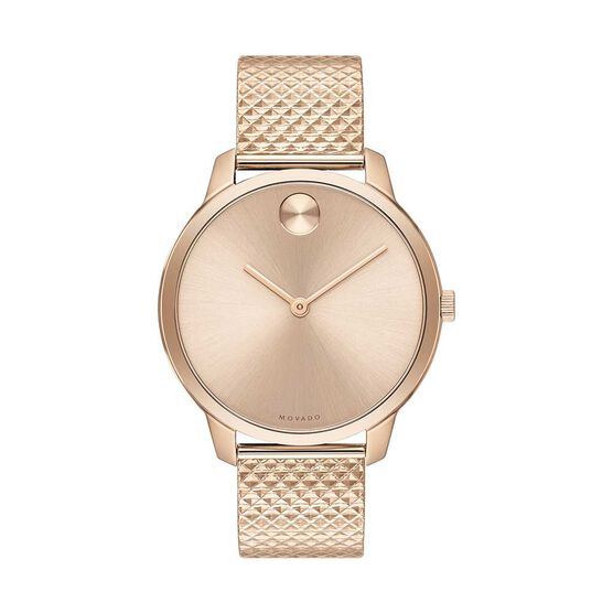 Movado Bold Rose Ion Watch