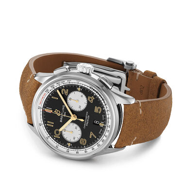 Breitling B01 Chronograph 42 Norton Black Dial Watch