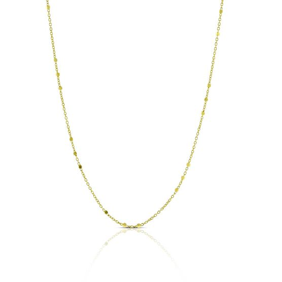 """Cube Station Chain 14K, 24"""""""
