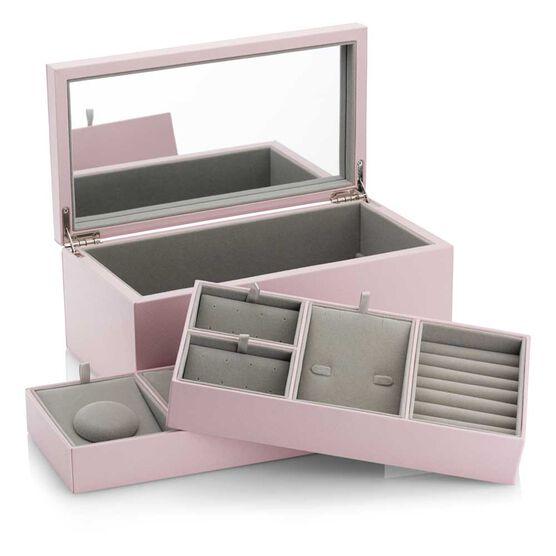 Pandora Medium Pink PU Leather Jewelry Box