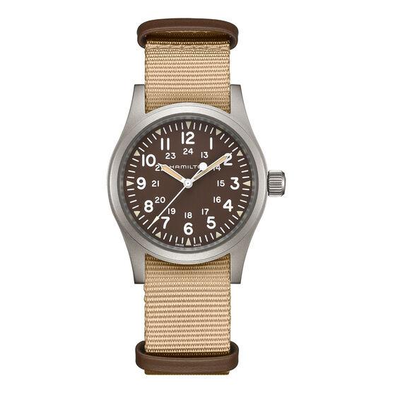Hamilton Field Khaki Mechanical NATO Strap Watch