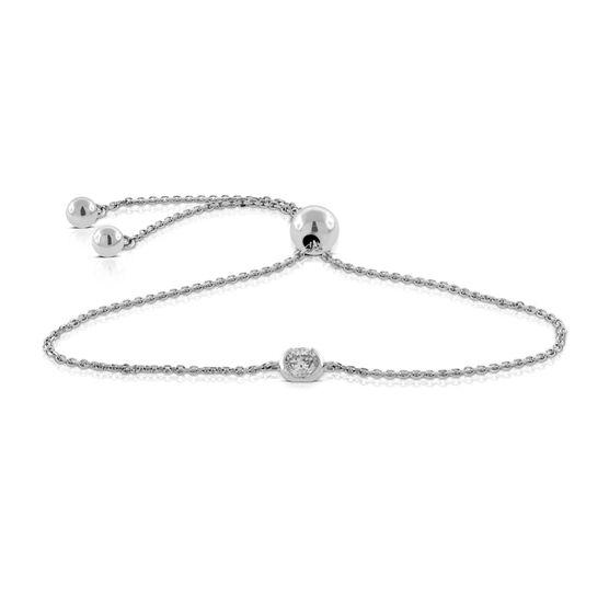 Ikuma Canadian Diamond Bolo Bracelet 14k Ben Bridge Jeweler