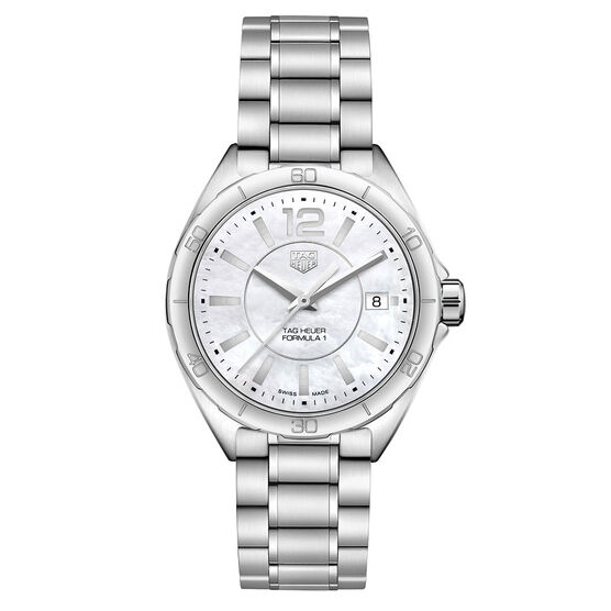TAG Heuer Formula 1 Lady Mother of Pearl Dial Watch 35mm