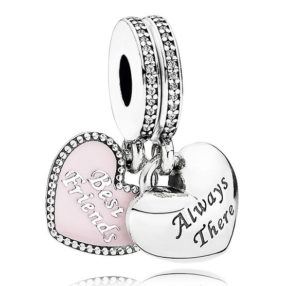 PANDORA Best Friends 2 Part Charm