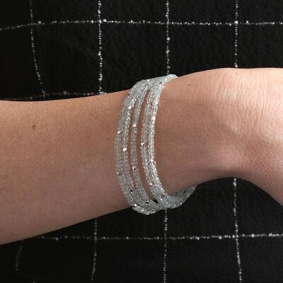 Lisa Bridge Multi-Strand Aquamarine Bracelet