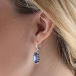 Lisa Bridge Kyanite & Sapphire Earrings