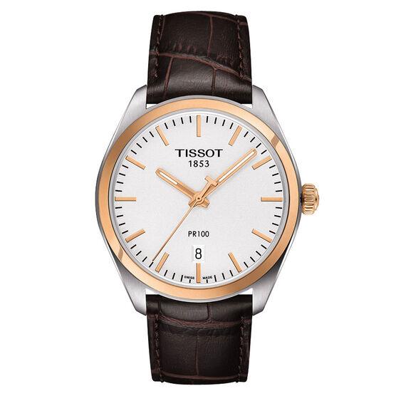 Tissot PR 100 T-Classic Rose PVD Quartz Watch