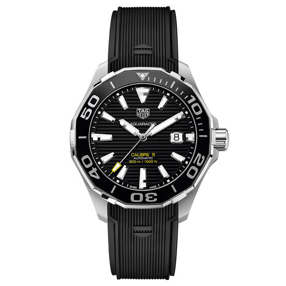 TAG Heuer Aquaracer Caliber 5 Black Watch 43mm
