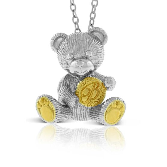 2019 Benny Bear Pendant in Sterling Silver