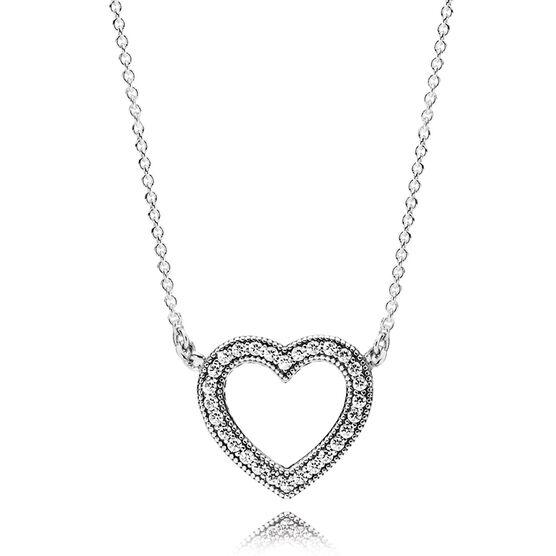 Pandora Loving Hearts CZ Necklace