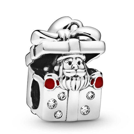 Pandora Santa in a Giftbox Enamel & CZ Charm