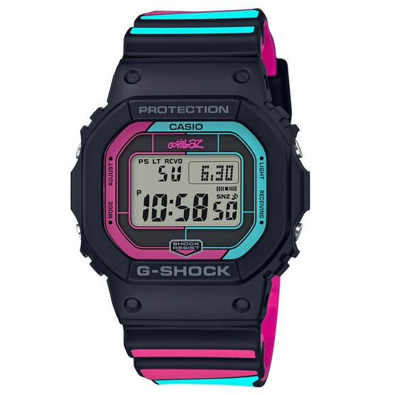 G-Shock Gorillaz Connected Pink & Blue Limited Edition Watch