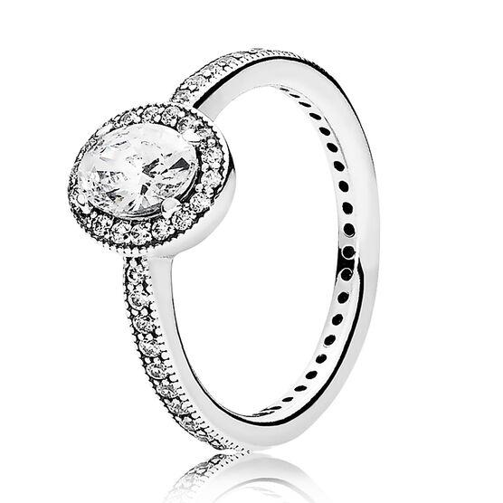 PANDORA Vintage Elegance CZ Ring