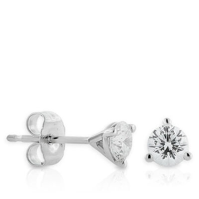 Signature Forevermark Diamond Earrings 18K, 1/2 ctw.