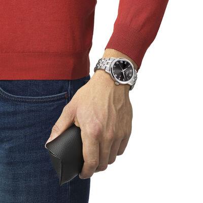 Tissot Classic Dream Black Dial Steel Quartz Watch, 42mm