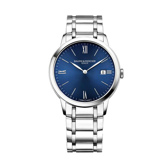 Baume & Mercier Blue Dial CLASSIMA 10382 Watch
