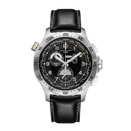 Hamilton WORLDTIMER Chrono Quartz Watch