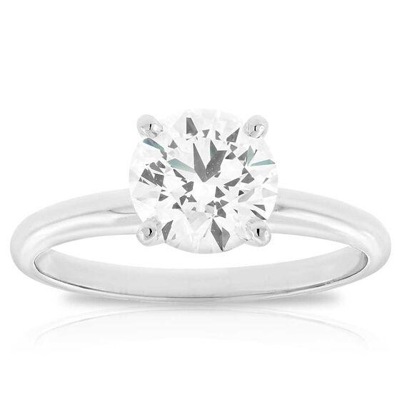 Ikuma Canadian Diamond Solitaire Ring 14K, 1.46 ct.