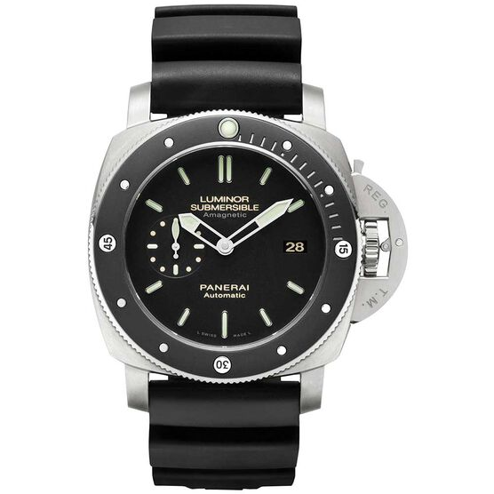 PANERAI Luminor Submersible 1950 Amagnetic Automatic Titanium Watch