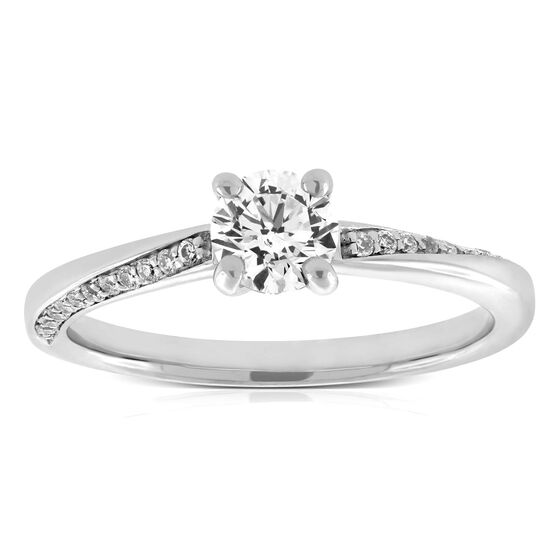 Ikuma Canadian Diamond Solitaire Ring 14K