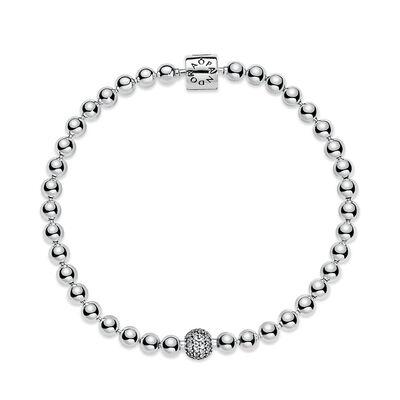 Pandora Purely Pandora Beads & Pavé CZ Bracelet