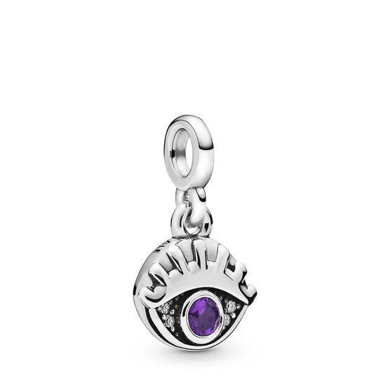 Pandora Me My Eye Crystal & CZ Dangle Charm