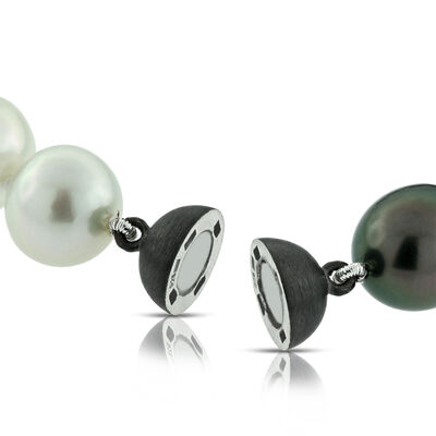 Ombre Cultured South Sea & Tahitian Pearl Bracelet