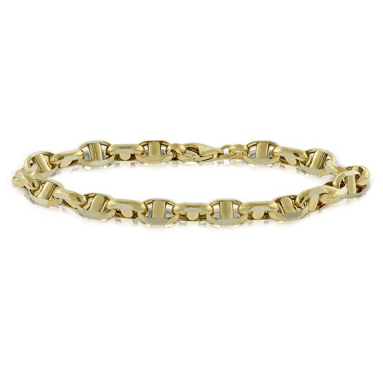 "Toscano Anchor Bracelet 14K, 8"""