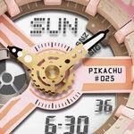 G-Shock Baby-G Limited Edition Pikachu Pokémon Watch, 43.4mm
