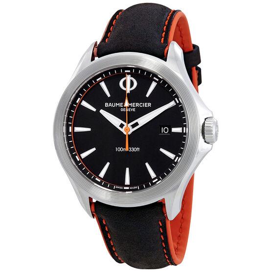 Baume & Mercier CLIFTON CLUB 10411 Black Orange Watch