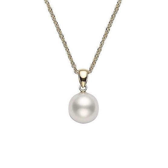 Mikimoto Akoya Cultured Pearl Pendant, AA, 18K