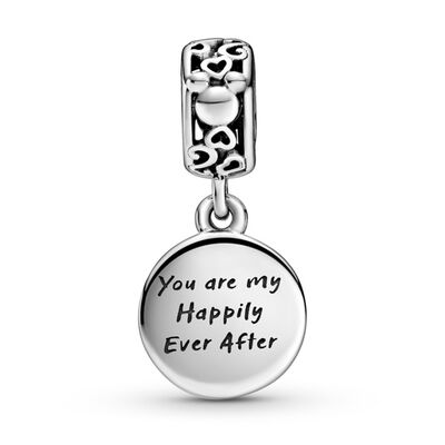 Pandora Disney Mickey Mouse & Minnie Mouse Happily Ever After Dangle Enamel Charm