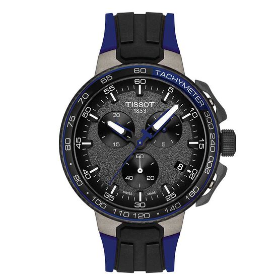 Tissot T-Race Cycling Blue Detailed Chronograph Watch, 44.5mm