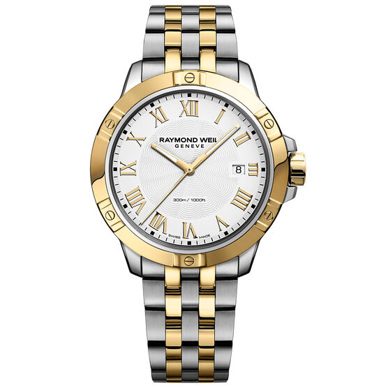 Raymond Weil Two-Tone Tango Watch, 41mm