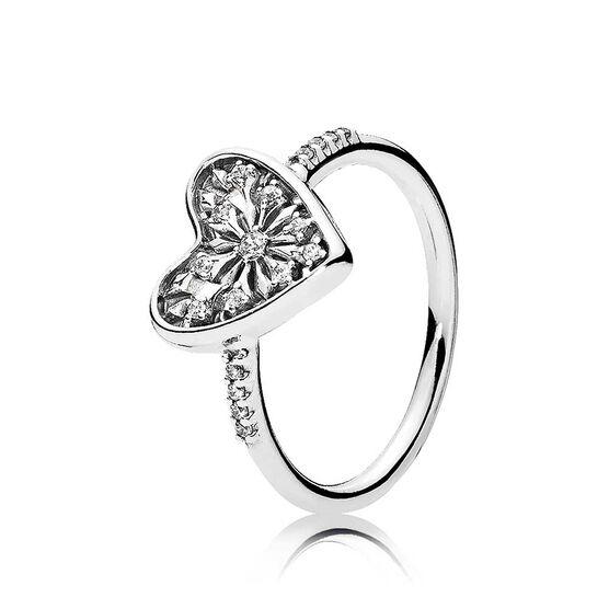 PANDORA Heart of Winter CZ Ring