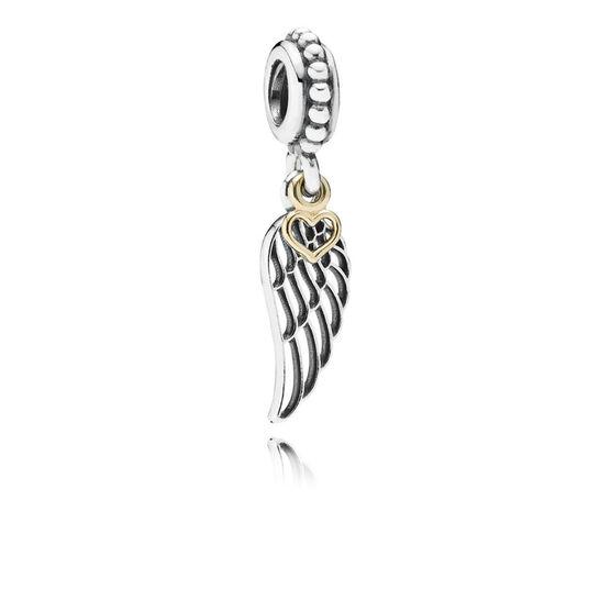 Pandora Love & Guidance Charm, Silver & 14K