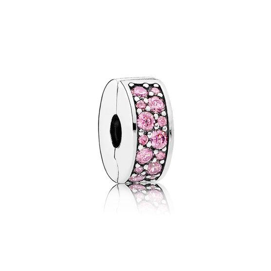 Pandora Pink Shining Elegance Clip