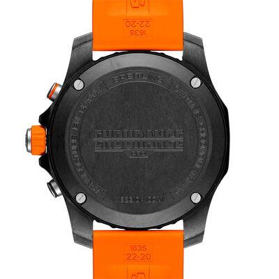 Breitling Endurance Pro Breitlight Orange Rubber Watch, 44mm