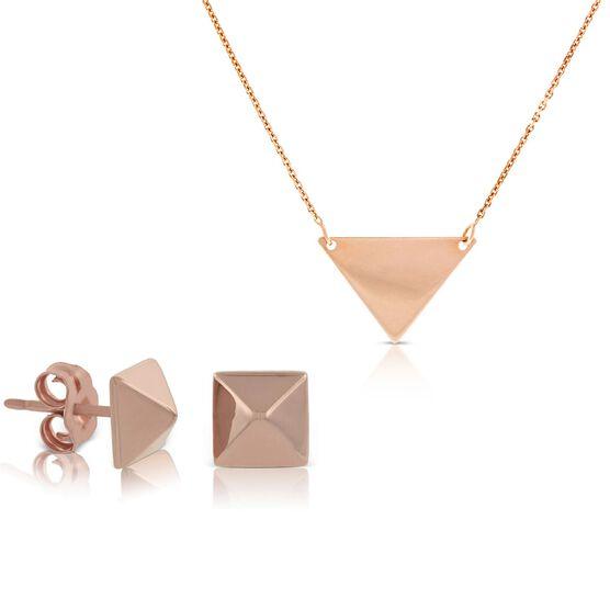 Rose Gold Geometric Gift Bundle