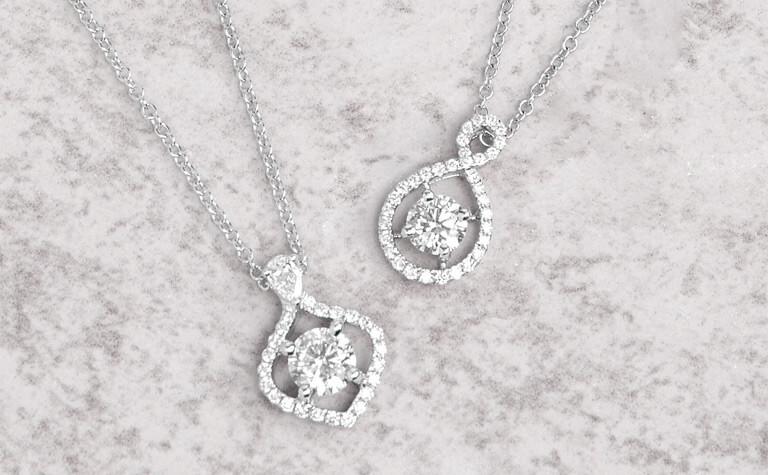 Ikuma Diamond Pendants   11869328 - 11869351
