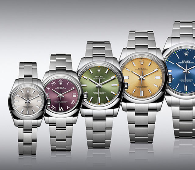 The oyster perpetual family